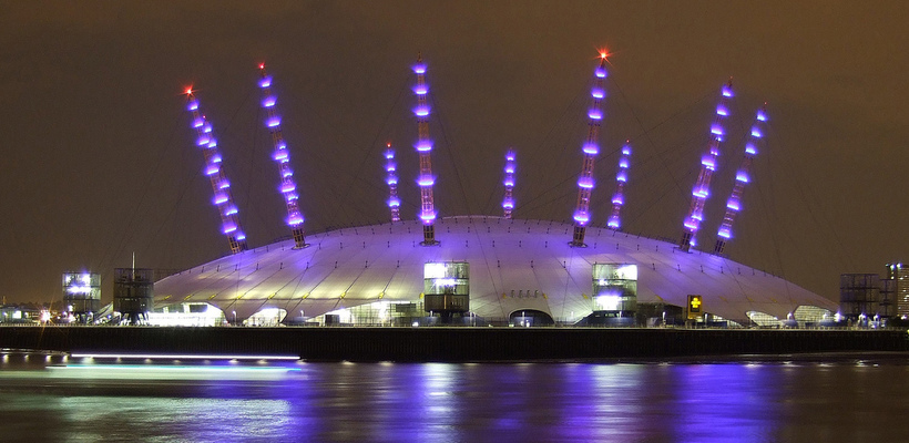 O2 Arena, Greenwich, London, United Kingdom