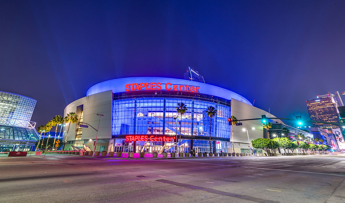 Staples Center, Los Angeles, California, USA